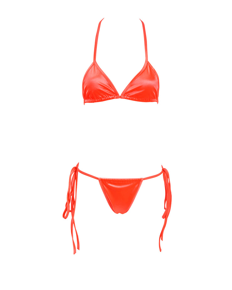 THE SATIN BIKINI // KOI