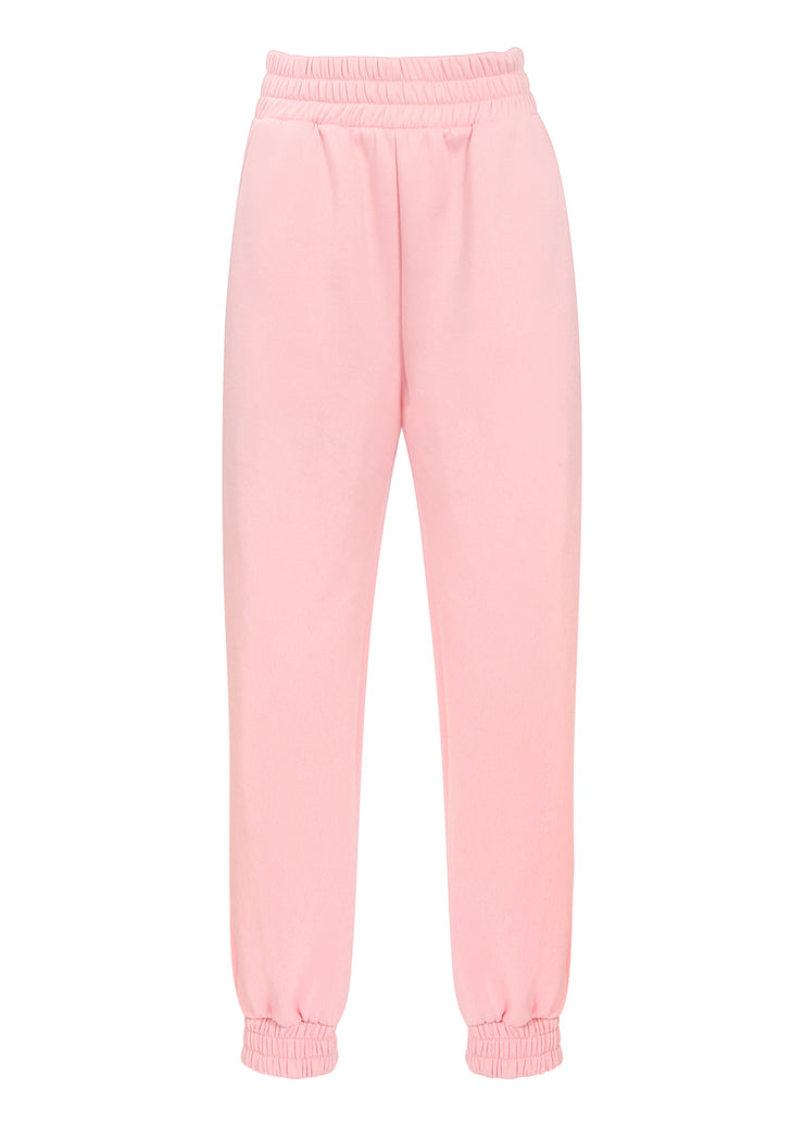 TAKEOFF TEDDY SWEATPANT // BABY PINK