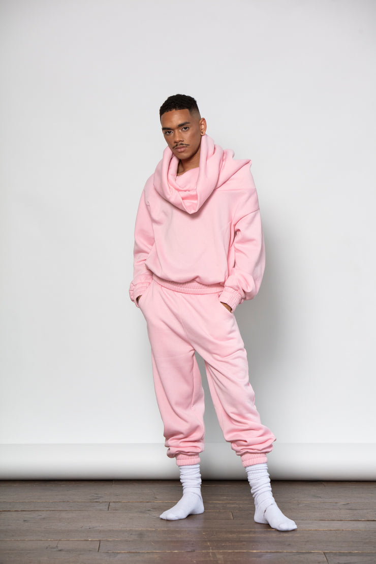 TAKEOFF TEDDY SWEATER // BABY PINK