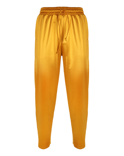 THE PJ PANT -  HIS // SAFFRON
