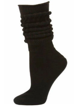 THE SLOUCH SOCK // BLACK