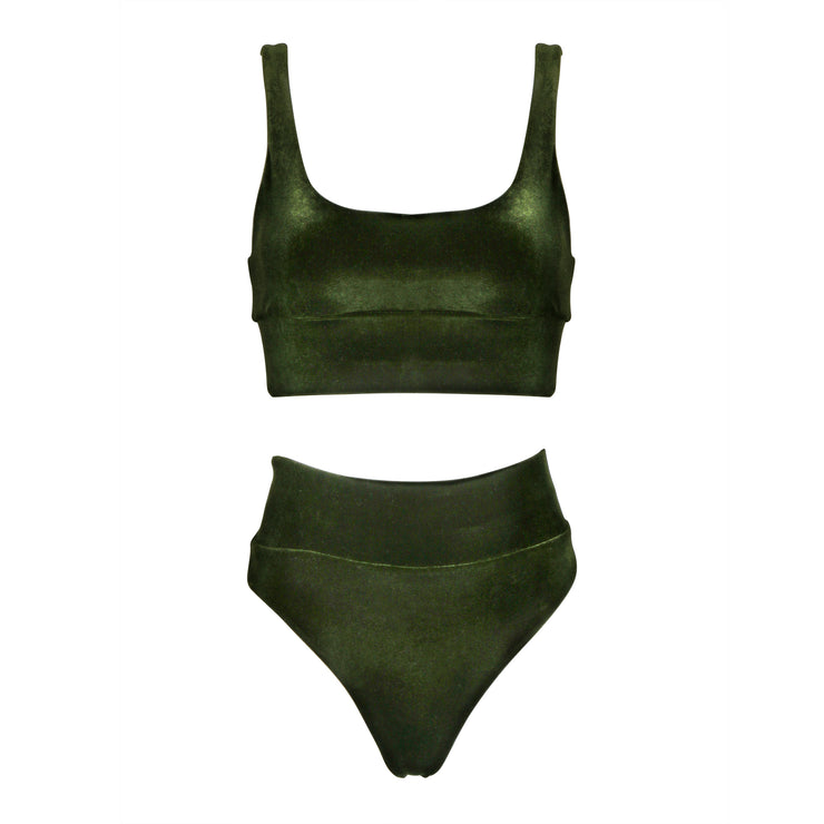 THE LEISURE BIKINI // SEAWEED