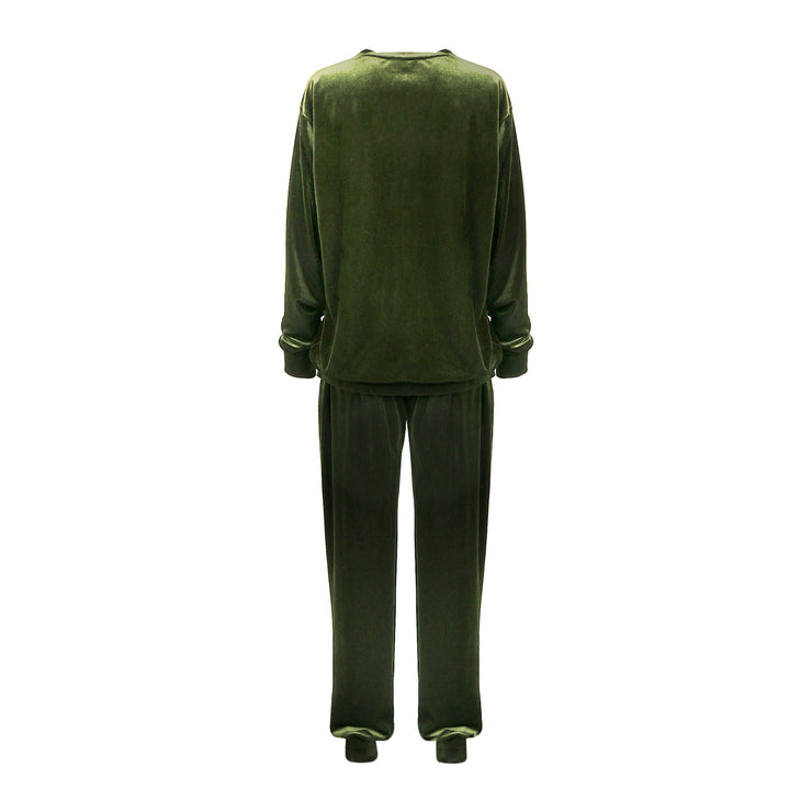 THE LEISURE LOUNGING SUIT // SEAWEED