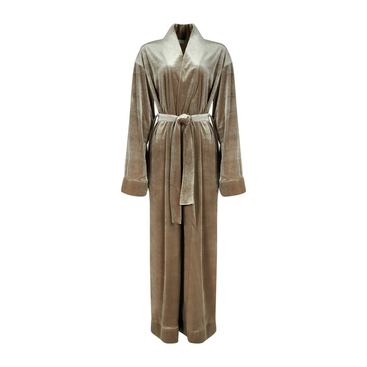 THE LEISURE ROBE // FROSTED TAUPE