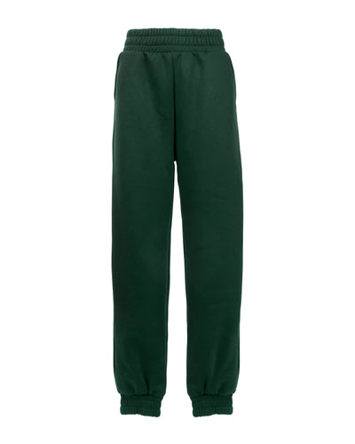 TAKEOFF TEDDY SWEATPANT // FOREST GREEN