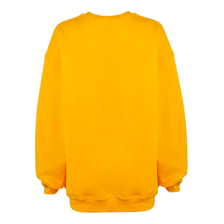 OVERSIZED CREWNECK // MUSTARD YELLOW