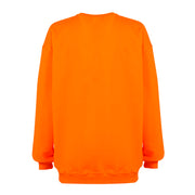 OVERSIZED CREWNECK // NEON ORANGE