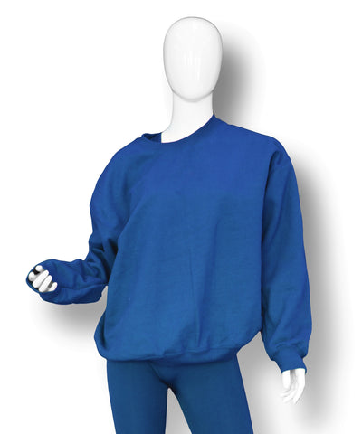 OVERSIZED CREW // ROYAL BLUE