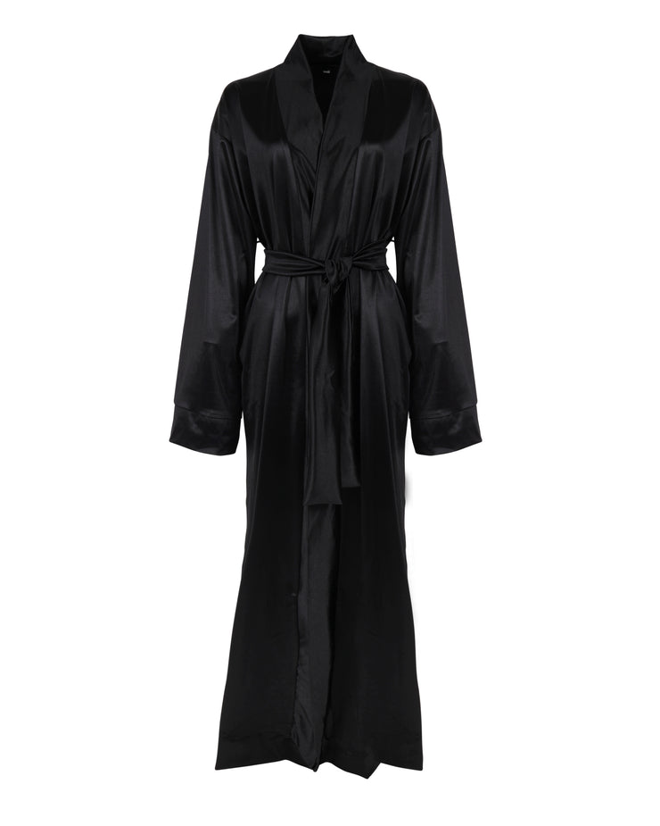 THE SATIN ROBE - HERS // TONKA BEAN