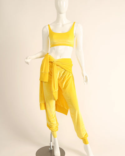 LEISURE LOUNGING SUIT // BRIGHT YELLOW