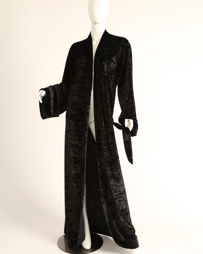 LEISURE ROBE // BLACK