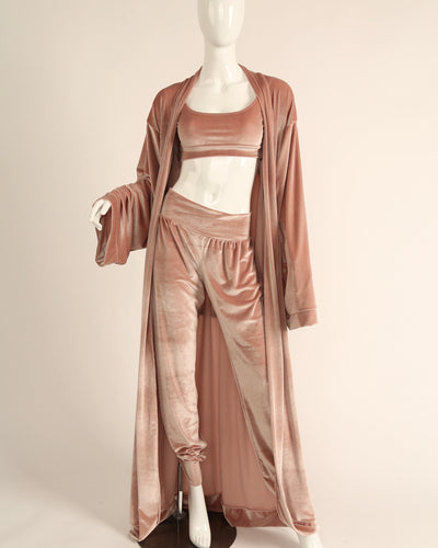 LEISURE ROBE // BLUSH