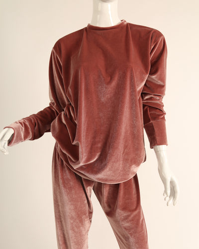 LEISURE LOUNGING SUIT // DUSTY ROSE