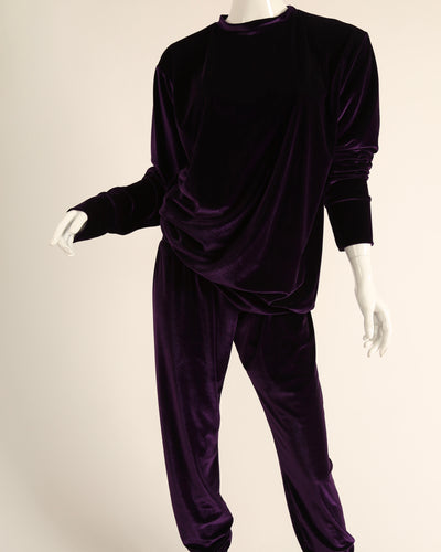 LEISURE LOUNGING SUIT // ROYAL PURPLE