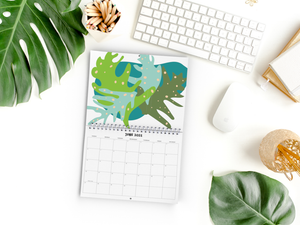 2021 DANESSA Tropical Plants Wall Calendar