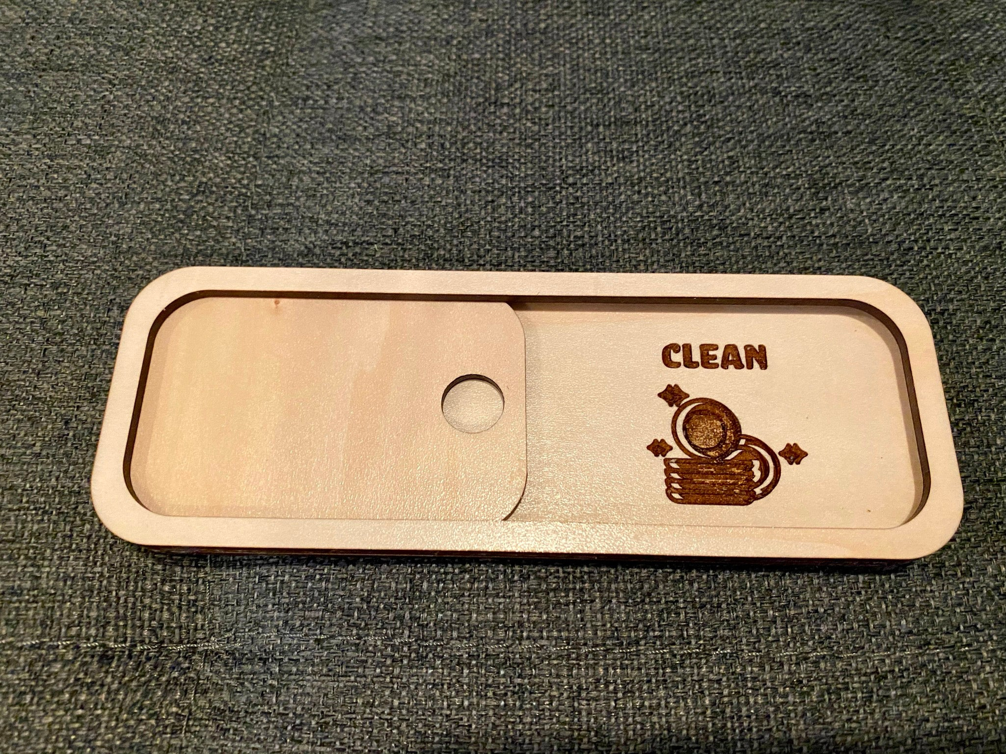 Custom Wooden Dishwasher Sign