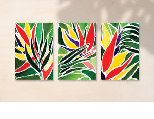 Tropical Dreams - Set of Three