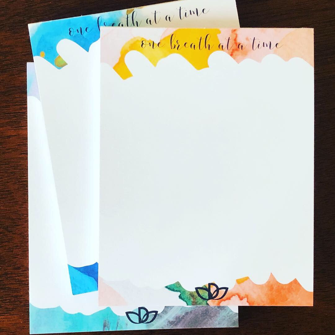 One Breath At A Time - Mindfulness Notepad set - DANESSA
