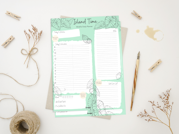 Island Time Mindful Daily Planner 1