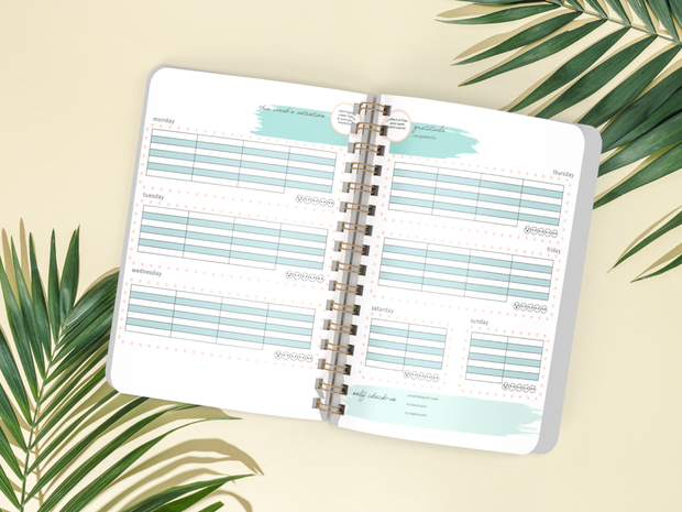CBT Daily Planner (Undated) 1