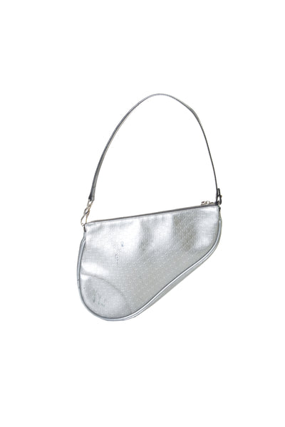 Christian DiorMetallic Saddle Bag- irvrsbl