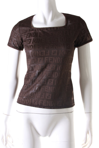 Sheer Logo Top