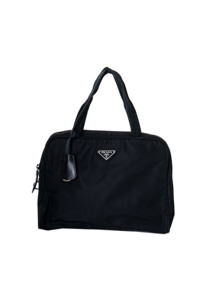 PradaTessuto Black Bag- irvrsbl