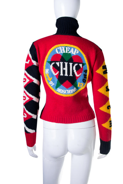 "Moschino""The Italian Dream"" Jumper- irvrsbl"
