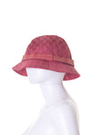 Gucci Pink Monogram Bucket Hat - irvrsbl