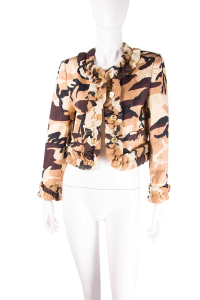 Cheap and Chic Camo Jacket