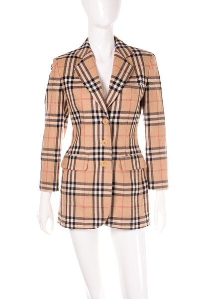 Nova Check Blazer Jacket