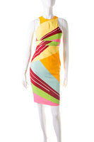 Versace Colorblock Dress - irvrsbl