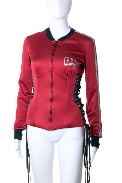 Dolce and GabbanaLace-up Jacket- irvrsbl