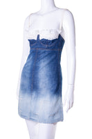 Dolce and Gabbana Denim Bustier Dress - irvrsbl