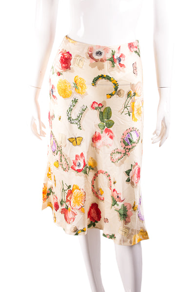 GucciTom Ford Silk Skirt- irvrsbl