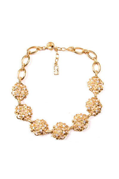 Yves Saint LaurentFloral Necklace- irvrsbl