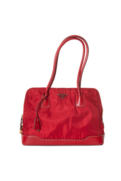 Prada Red Tessuto Bag - irvrsbl
