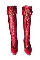 Christian Dior CD Buckle Boots - irvrsbl