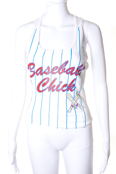 Dolce and GabbanaBaseball Chick Tank Top- irvrsbl