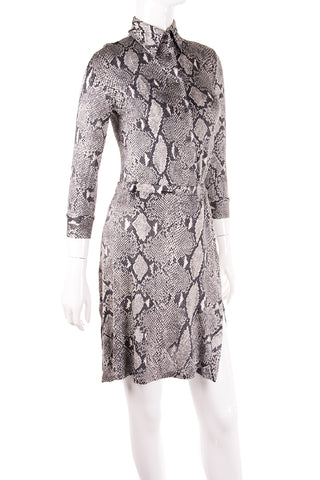Tom Ford Python Print Top and Skirt Set