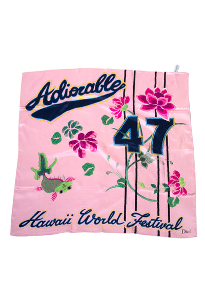 Adiorable Silk Scarf
