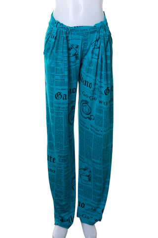 Gazette Print Pants