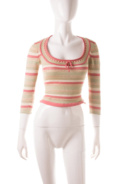 Stretch Knit Top