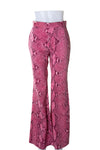 Gucci Tom Ford Pink Snakeskin Pants - irvrsbl