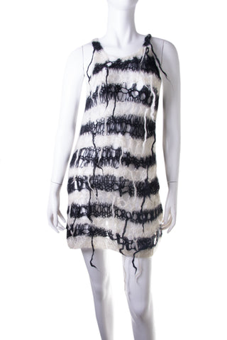 Junya Watanabe Spiderweb Knit Dress