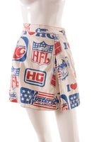 Logo Printed Skirt