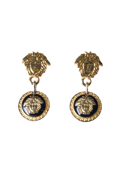 VersaceMedusa Head Earrings- irvrsbl