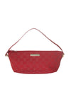 Monogram Boat Pochette in Red