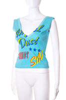 Dolce and GabbanaSummer Sin V Neck Top- irvrsbl