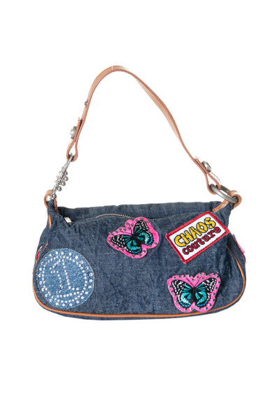 Chaos Couture Denim Bag
